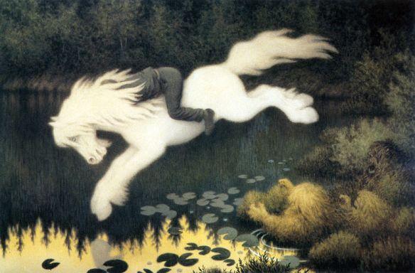 Acquavallo - (Nokken by Theodor Kittlesen)